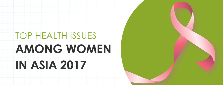 top health issue women asia 2017 infographic