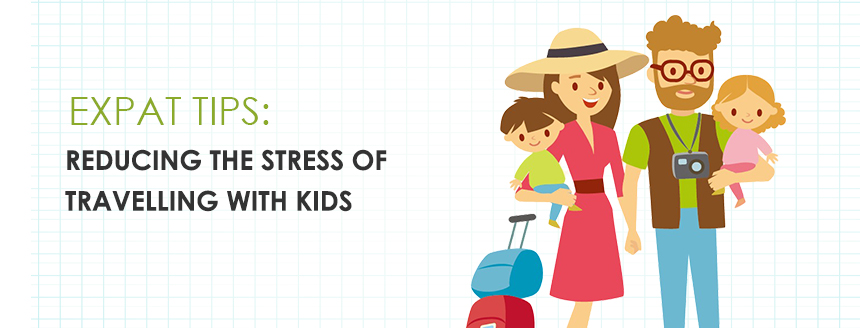 Reducing the Stress When Travelling with Kids